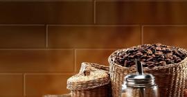 Плитка-панно настенное Belani Брик 30х60, кремовый кофе 1