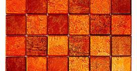 Мозаика бренда Imagine коллекции Seven mosaics BJT02, 30х30, оранжевая