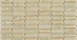 Китайская мозаика бежевого цвета коллекции Crystal бренда PrimaColore