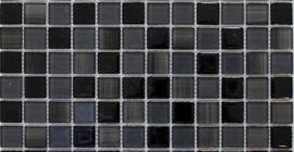 Китайская мозаика черного цвета коллекции Cristal бренда PrimaColore