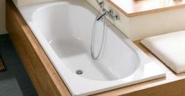 Стальная ванна бренда Bette коллекции Form размером 160x70 см., белого цвета