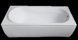 Сантехника бренда Ventospa: акриловая ванна коллекции AQUA, размером 150х75