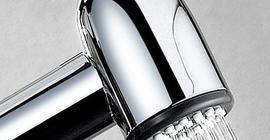 Гигиенический душ / лейка с фиксатором, силиконовые форсунки Wasser Kraft A043