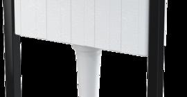 Инсталляция для подвесного унитаза AlcaPlast AM101/1120 к несущей стене или в гипсокартонную конструкцию