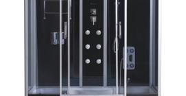 Душевой бокс Avanta 5025/6, серое стекло 150x85x215