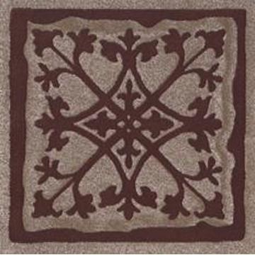 Вставка Paradyz Tremont 9.8x9.8, Brown, A