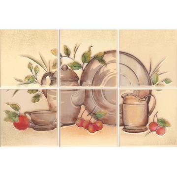 Плитка-панно настенное Paradyz Vanilla 30x20 (10x10), Beige