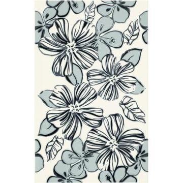 Плитка-декор настенный Paradyz Vivian 40x25, Bianco, Kwiat
