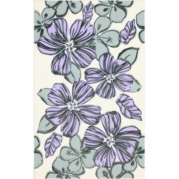 Плитка-декор настенный Paradyz Vivian 40x25, Viola, Kwiat
