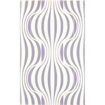 Плитка-декор настенный Paradyz Vivian 40x25, Viola, Fala