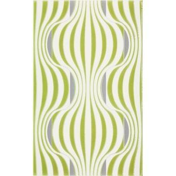 Плитка-декор настенный Paradyz Vivian 40x25, Verde, Fala