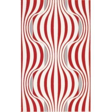 Плитка-декор настенный Paradyz Vivian 40x25, Rosa, Fala