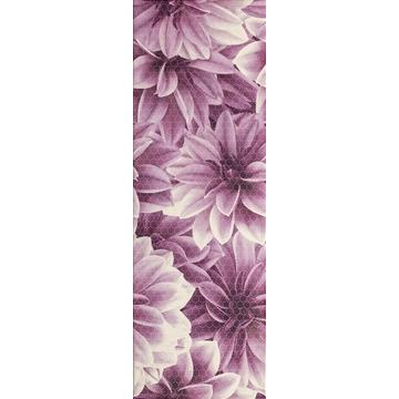 Плитка-декор настенный Paradyz Universo 60x20, Bianco, Flower