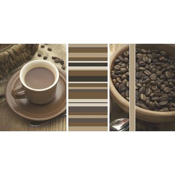Плитка-декор настенный Paradyz Vivida 60x30, Bianco, Cafe A