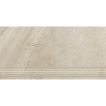 Плитка для ступеней Paradyz Teakstone 60x30, Bianco