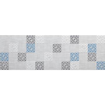 Плитка-декор настенный Paradyz Tolio 75x25, Grys, B