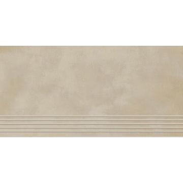 Плитка для ступеней Paradyz Tecniq 59.8x29.8, Beige, полуполированная