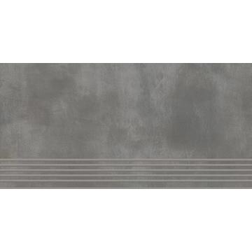Плитка для ступеней Paradyz Tecniq 59.8x29.8, Grafit