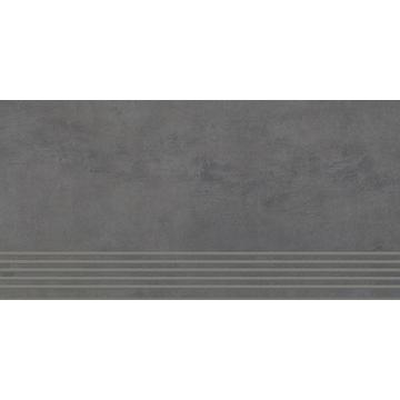 Плитка для ступеней Paradyz Tecniq 59.8x29.8, Nero