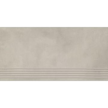 Плитка для ступеней Paradyz Tecniq 59.8x29.8, Grys, полуполированная