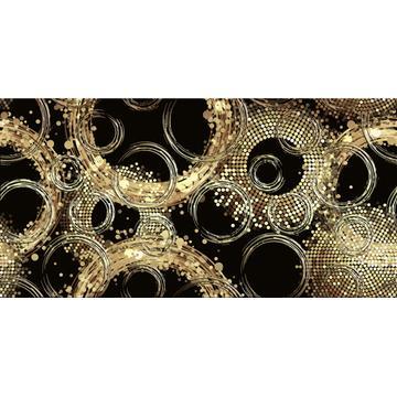 Плитка-декор настенный Уралкерамика Golden 24.9х50