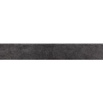 Бордюр Paradyz Taranto 44.8x7.2, Grafit, Cokol, полуполированный