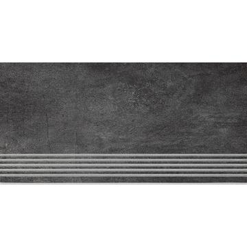 Плитка для ступеней Paradyz Taranto 59.8x29.8, Grafit