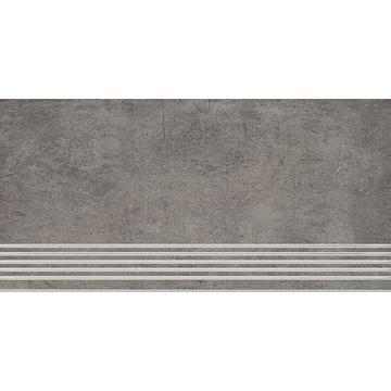 Плитка для ступеней Paradyz Taranto 59.8x29.8, Grys