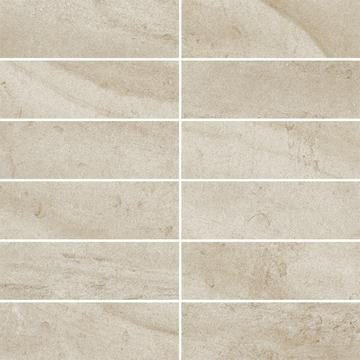 Плитка-мозаика универсальная Paradyz Teakstone 29.8x29.8, Bianco, резанная