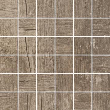 Плитка-мозаика универсальная Paradyz Trophy 29.8x29.8, Brown, резанная