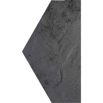 Плитка-декор напольный Paradyz Semir 14.8x26, Grafit, Polowa