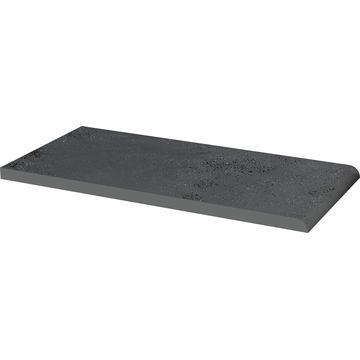 Плитка для ступеней Paradyz Semir 30x14.8, Grafit, Parapet