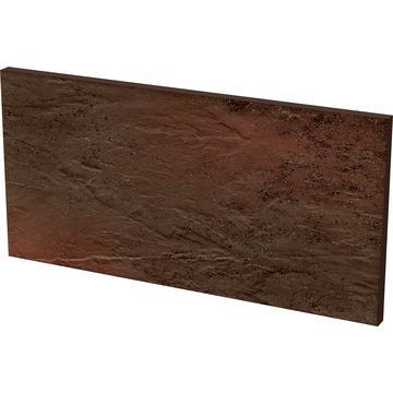 Плитка для ступеней Paradyz Semir 30x14.8, Brown, Podstopnica