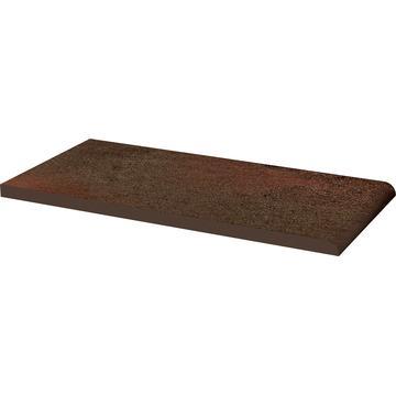 Плитка для ступеней Paradyz Semir 30x14.8, Brown, Parapet