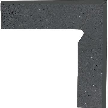 Бордюр Paradyz Semir 30x8.1, Grafit, Cokol