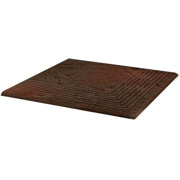 Плитка для ступеней Paradyz Semir 30x30, Brown, Narozna