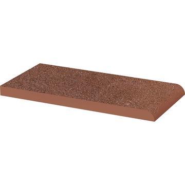 Плитка для ступеней Paradyz Taurus 20x10, Brown, Parapet