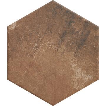 Напольная плитка Paradyz Scandiano 26х26, rosso гексагон
