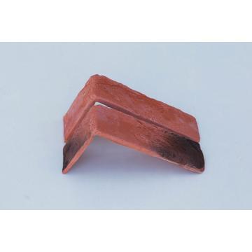 Настенная плитка, Угол Kаменный млын Stone Mill Кирпич шамотный 190x96 охра
