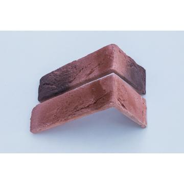 Настенная плитка, Угол Kаменный млын Stone Mill Кирпич шамотный 190x96 коричневый