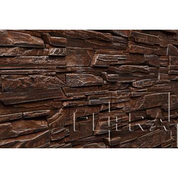 Декоративный Камень Petra Дамаск Настенная, угол 25,5x9, коричневый