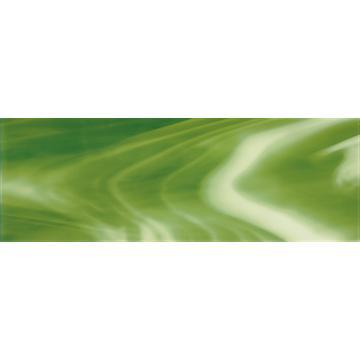 Плитка-декор настенный Paradyz 75x25, Verde, Murano, B, стеклянный