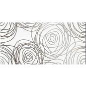 Плитка-декор настенный Belani День-ночь 50x25, белый