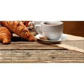 Плитка-панно настенное Belani Брик 30х60, кремовый кофе 4