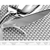 Плитка-панно настенное Березакерамика Рондо 35x25, Сервиз 4, черный
