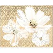 Плитка-панно настенное Azori Sfumato 50.5x40.2, Beige Floret