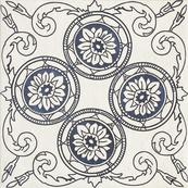Декор C 19.8 x 19.8, бьянка, структурная