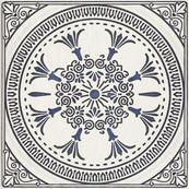 Декор D 19.8 x 19.8, бьянка, структурная
