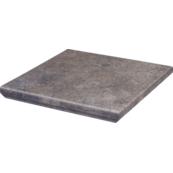 Плитка для ступеней Paradiz VIANO 33х33, серый, с капиносом, угловая