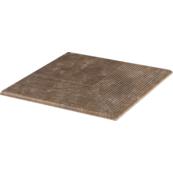 Плитка для ступеней Paradiz  ILARIO 30.0х30.0, коричневый, клинкер, угловая